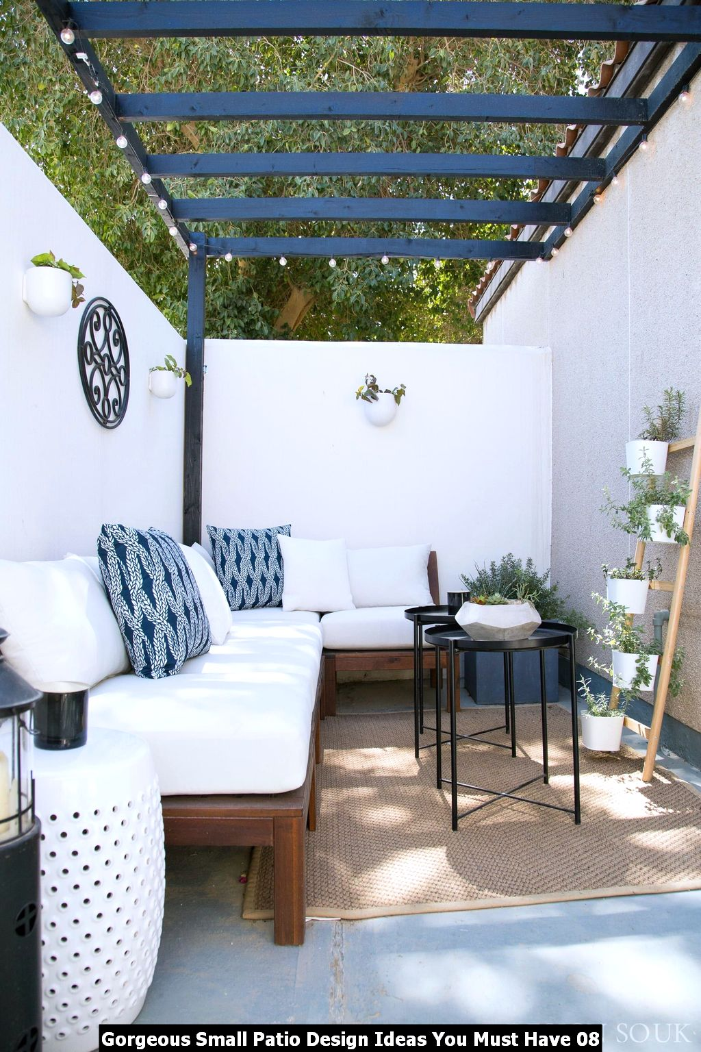 Gorgeous Small Patio Design Ideas You Must Have 08