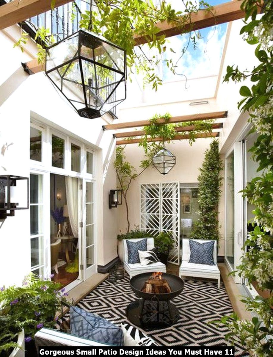 Gorgeous Small Patio Design Ideas You Must Have 11