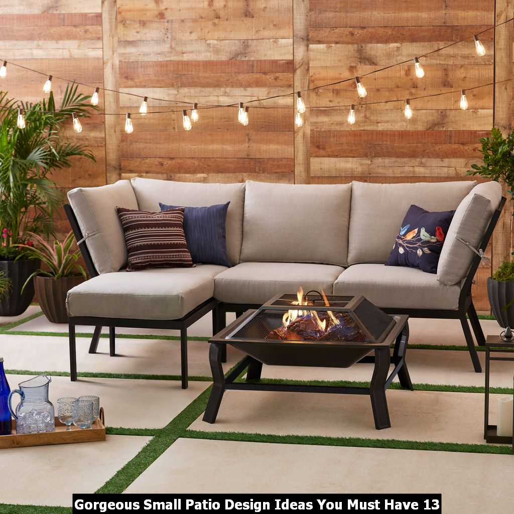 Gorgeous Small Patio Design Ideas You Must Have 13