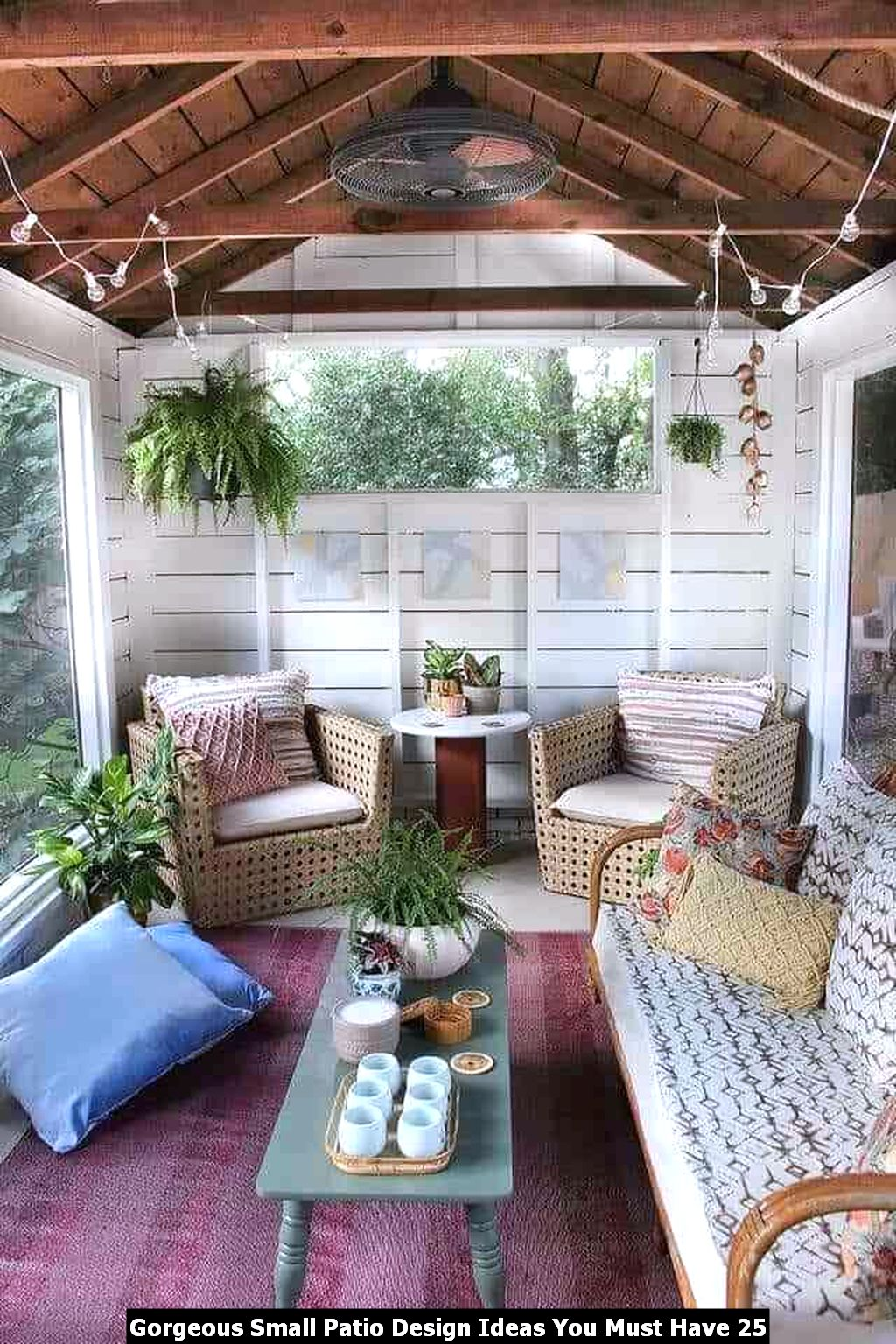 Gorgeous Small Patio Design Ideas You Must Have 25