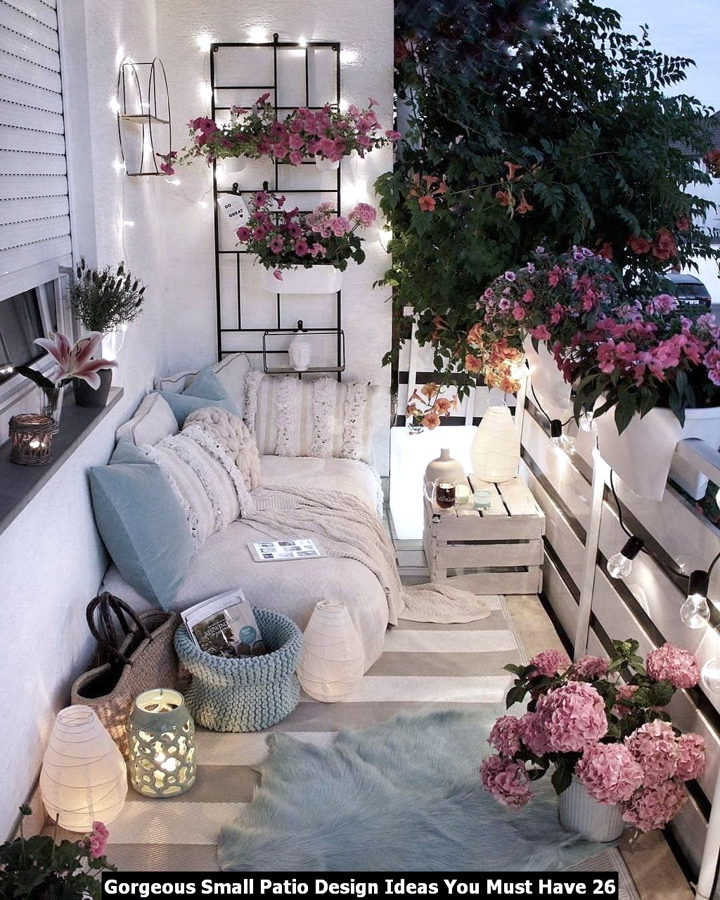 Gorgeous Small Patio Design Ideas You Must Have 26