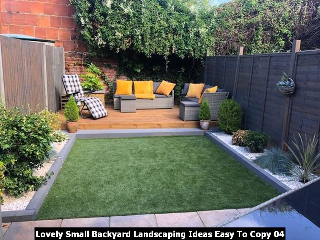 Lovely Small Backyard Landscaping Ideas Easy To Copy 04