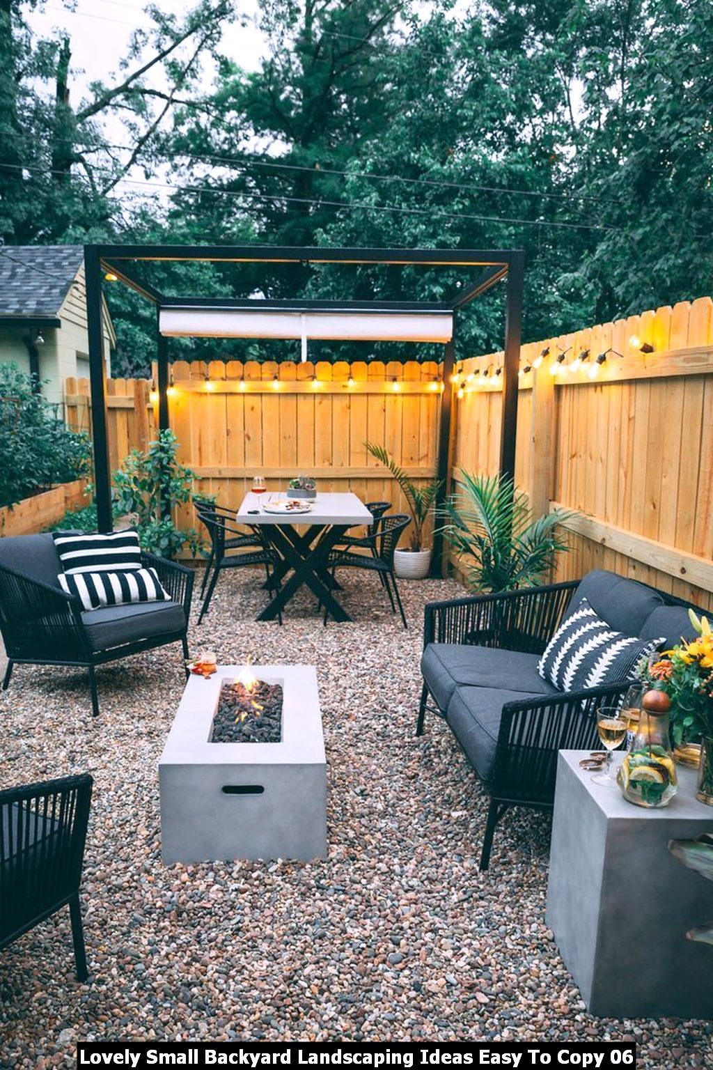 Lovely Small Backyard Landscaping Ideas Easy To Copy 06
