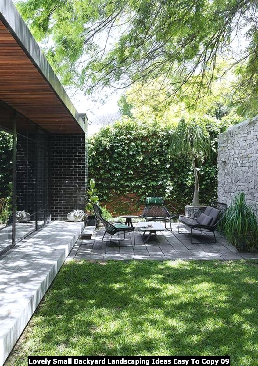 Lovely Small Backyard Landscaping Ideas Easy To Copy 09
