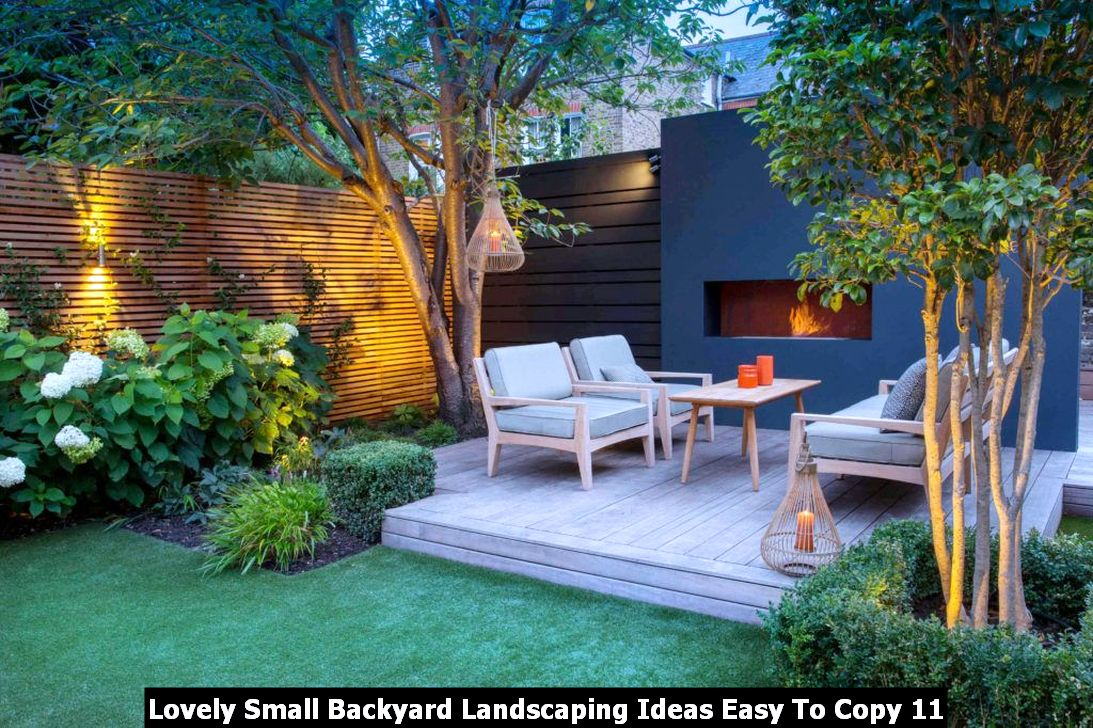 Lovely Small Backyard Landscaping Ideas Easy To Copy 11