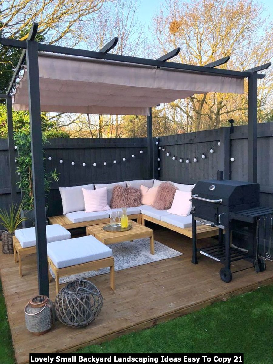 Lovely Small Backyard Landscaping Ideas Easy To Copy 21