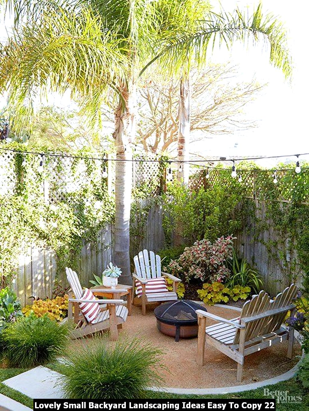 Lovely Small Backyard Landscaping Ideas Easy To Copy 22