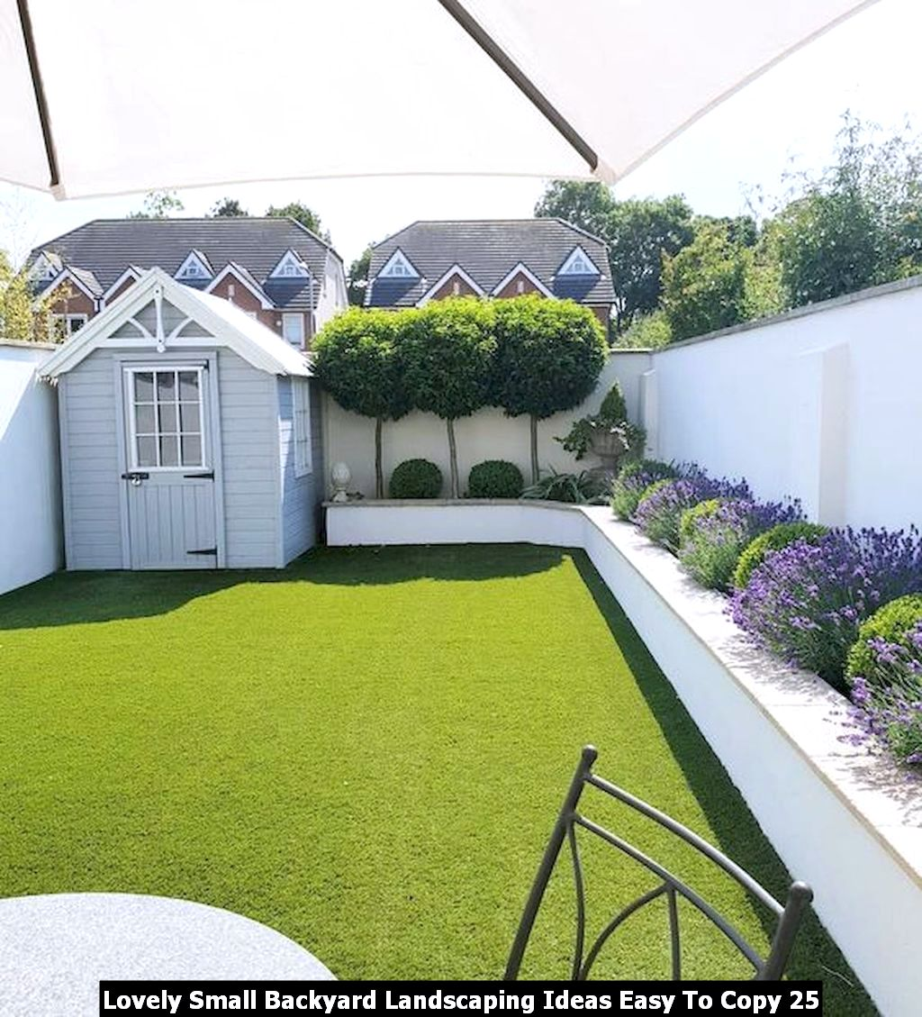 Lovely Small Backyard Landscaping Ideas Easy To Copy 25