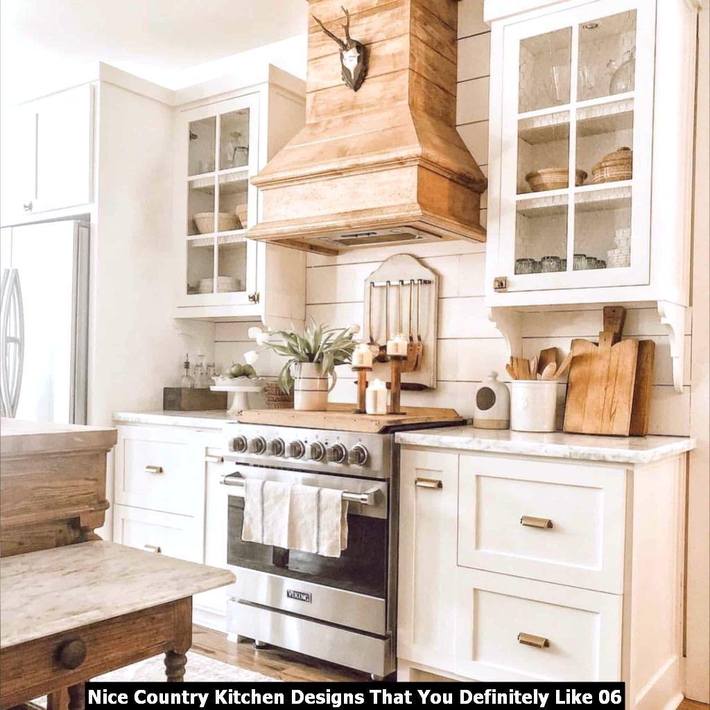Nice Country Kitchen Designs That You Definitely Like 06