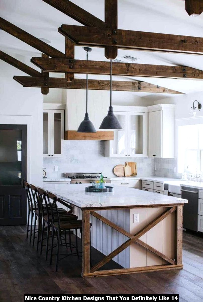 Nice Country Kitchen Designs That You Definitely Like 14