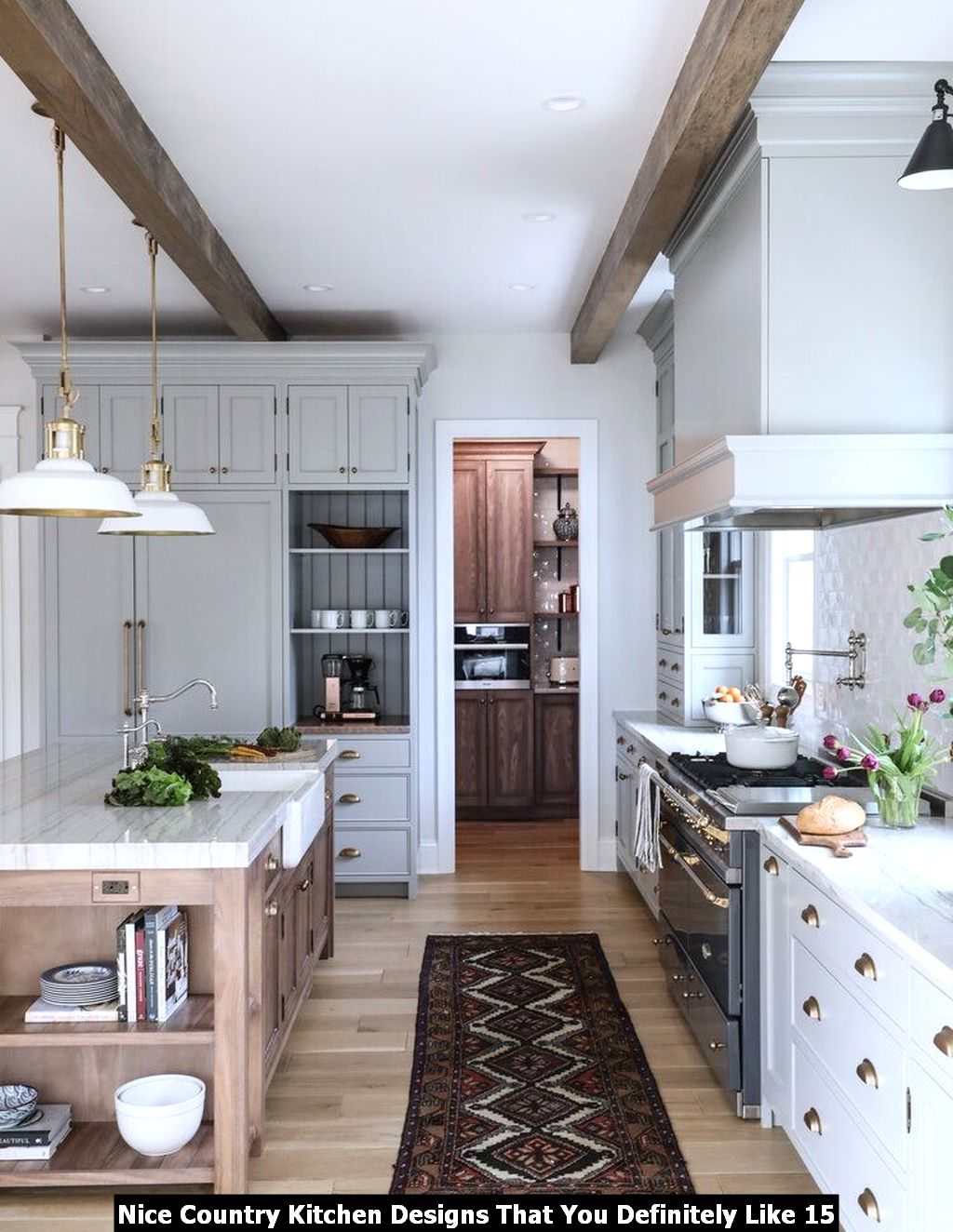 Nice Country Kitchen Designs That You Definitely Like 15