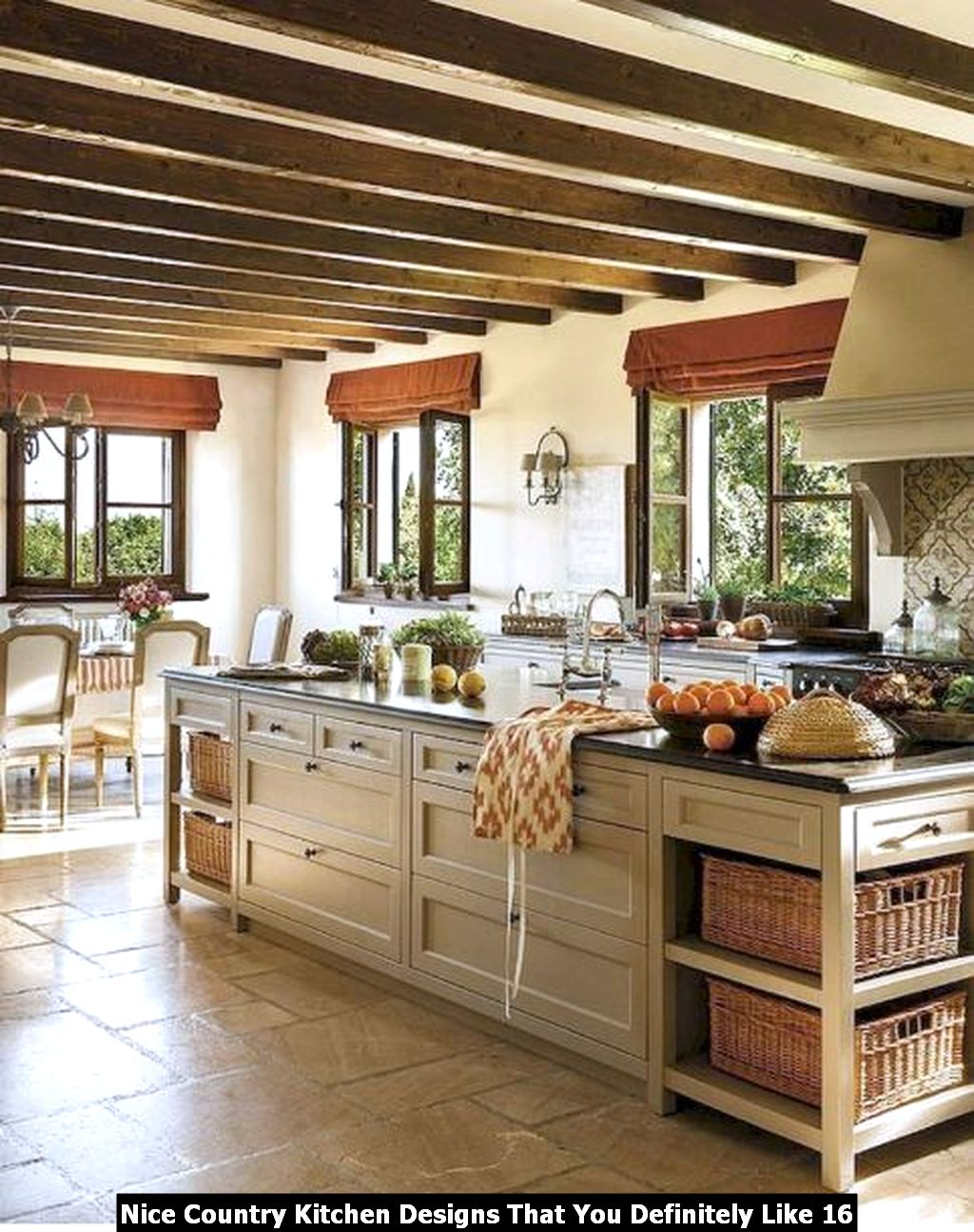 Nice Country Kitchen Designs That You Definitely Like 16