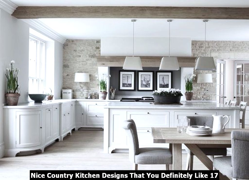 Nice Country Kitchen Designs That You Definitely Like 17