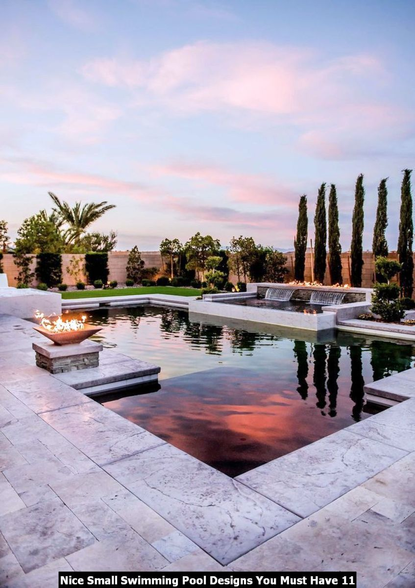 Nice Small Swimming Pool Designs You Must Have 11