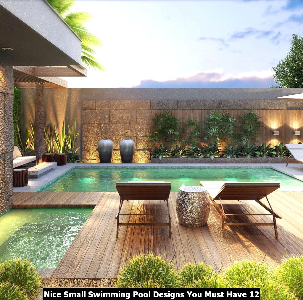 Nice Small Swimming Pool Designs You Must Have 12