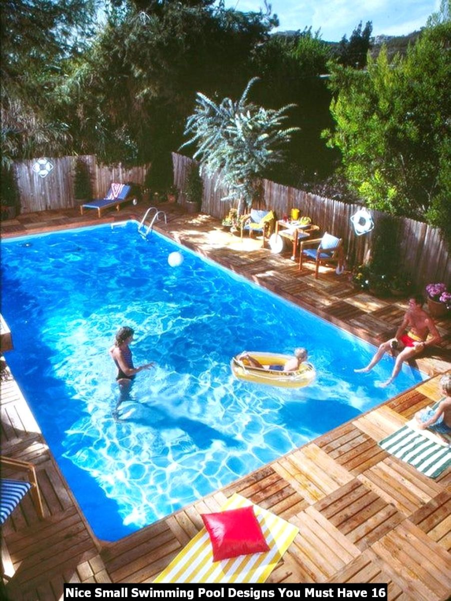 Nice Small Swimming Pool Designs You Must Have 16
