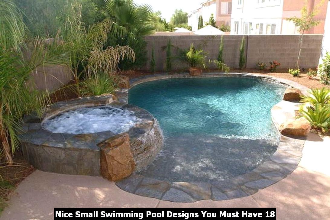 Nice Small Swimming Pool Designs You Must Have 18