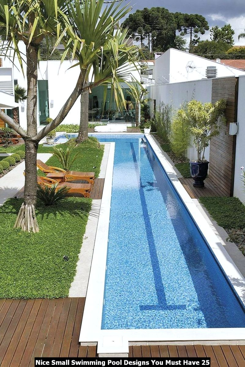 Nice Small Swimming Pool Designs You Must Have 25