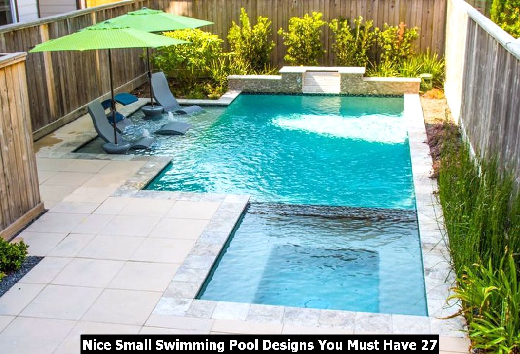 Nice Small Swimming Pool Designs You Must Have 27