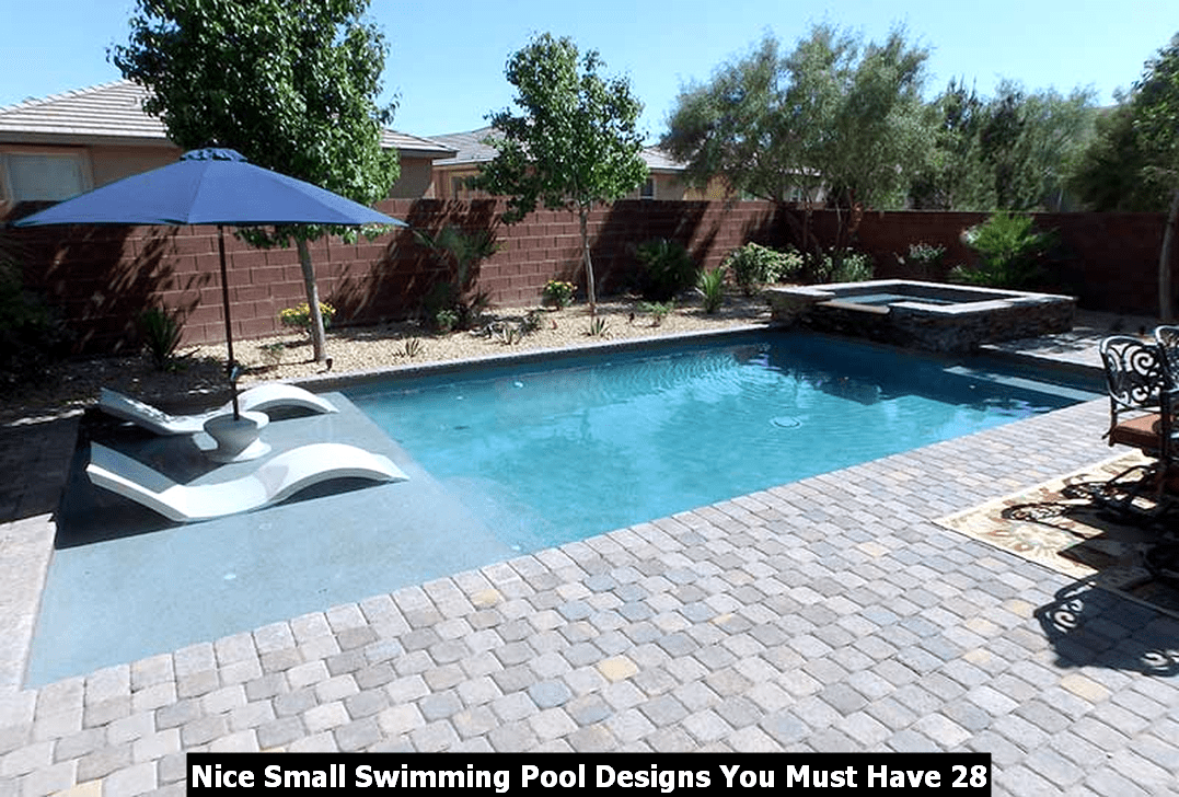 Nice Small Swimming Pool Designs You Must Have 28