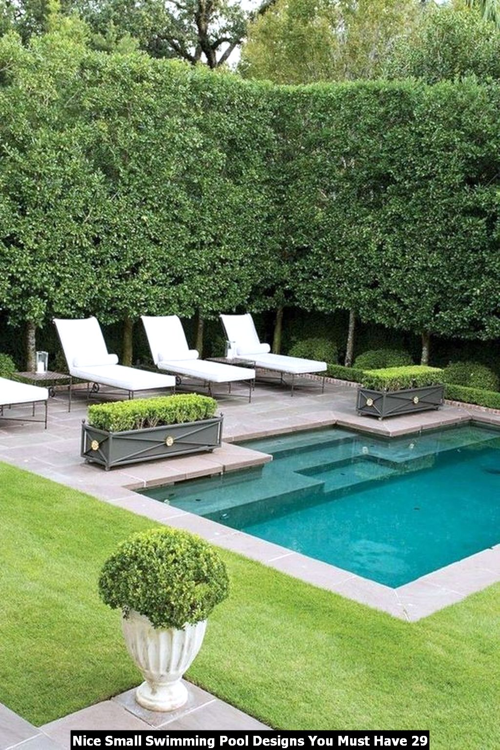 Nice Small Swimming Pool Designs You Must Have 29