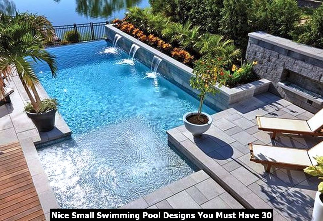 Nice Small Swimming Pool Designs You Must Have 30