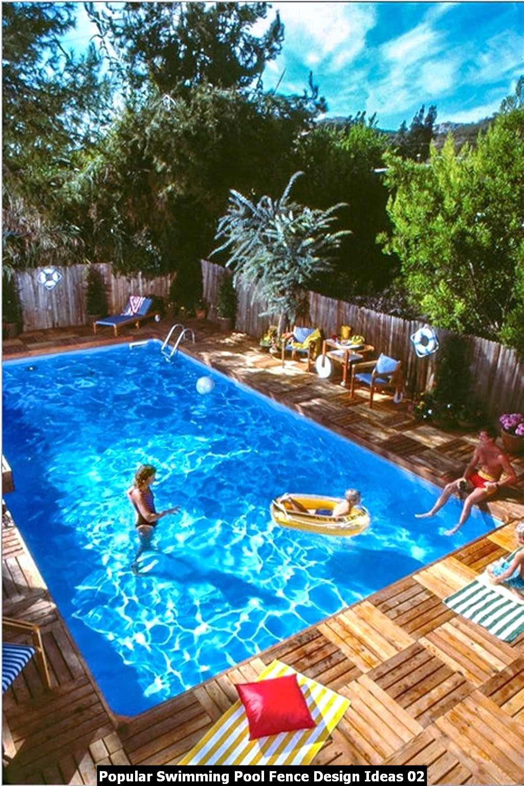 Popular Swimming Pool Fence Design Ideas 02