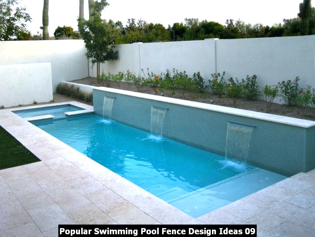 Popular Swimming Pool Fence Design Ideas 09