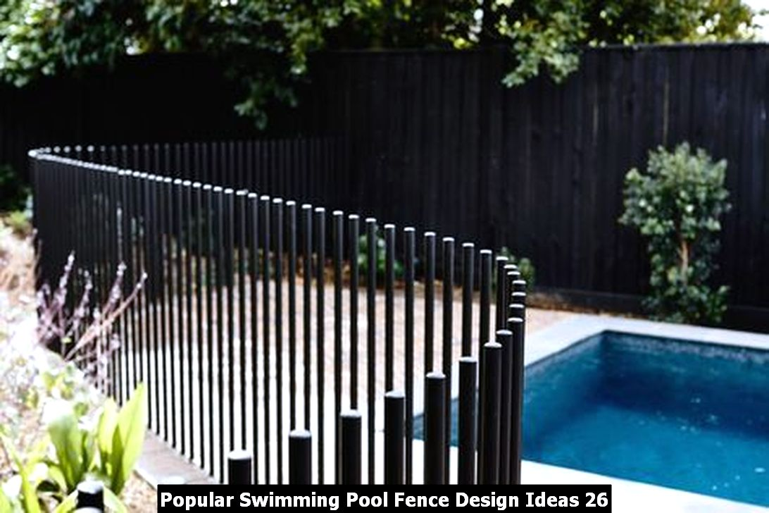 Popular Swimming Pool Fence Design Ideas 26
