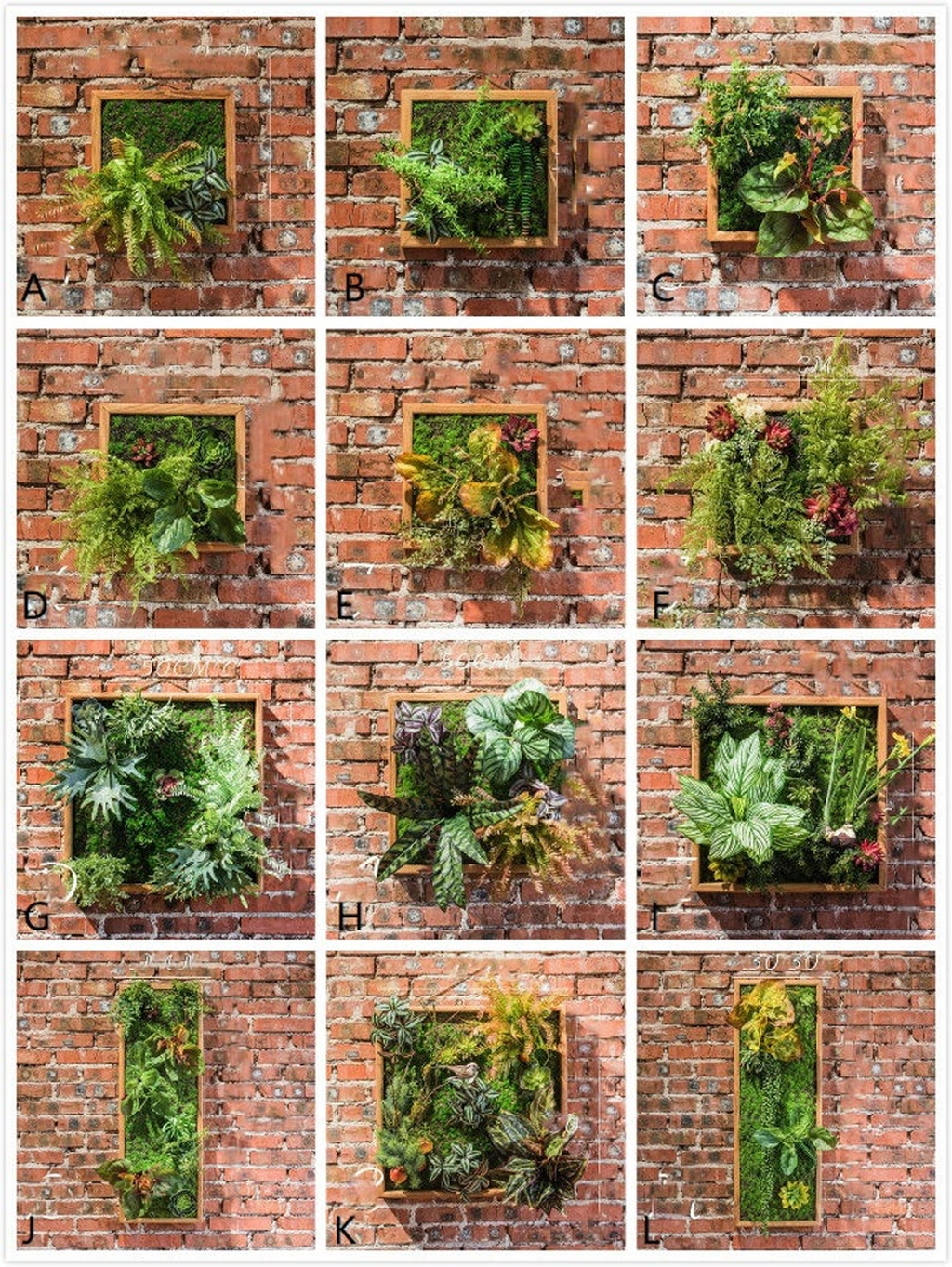 Popular Vertical Garden Wall For Outdoors Decor 08