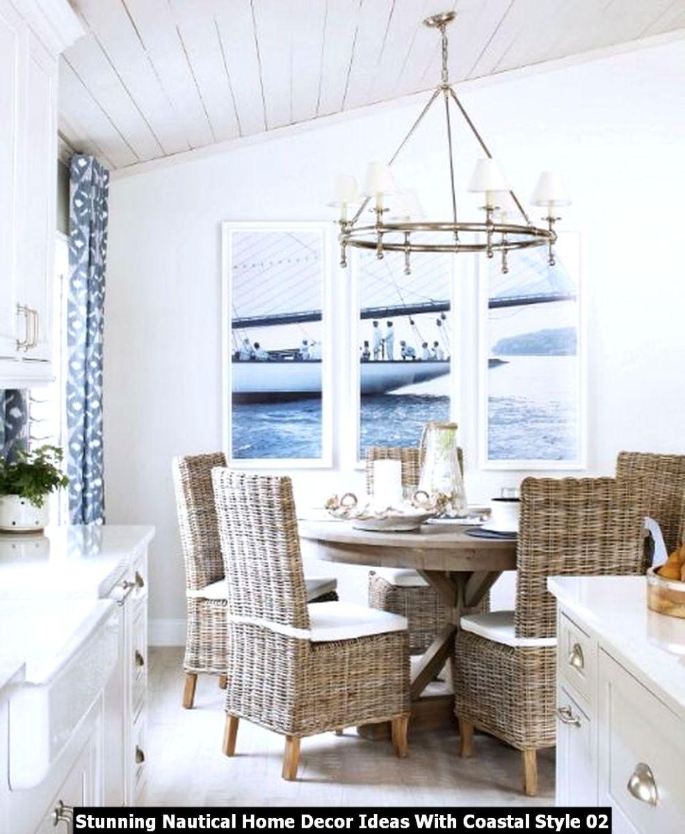 Stunning Nautical Home Decor Ideas With Coastal Style 02