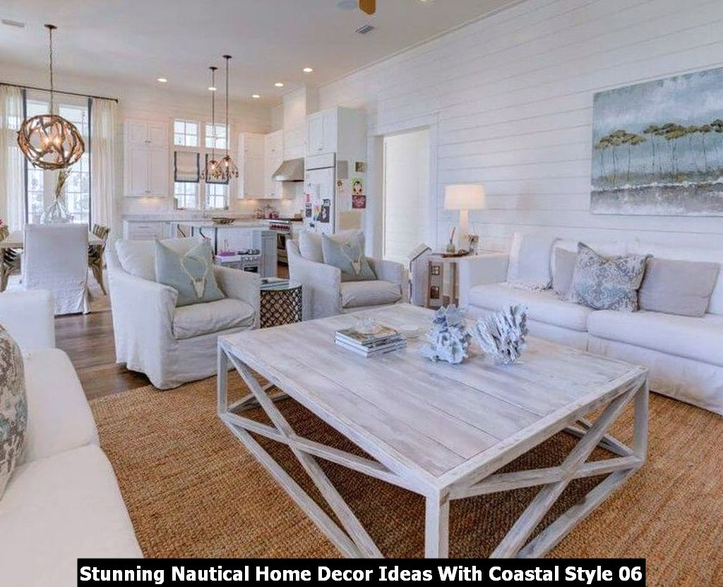 Stunning Nautical Home Decor Ideas With Coastal Style 06