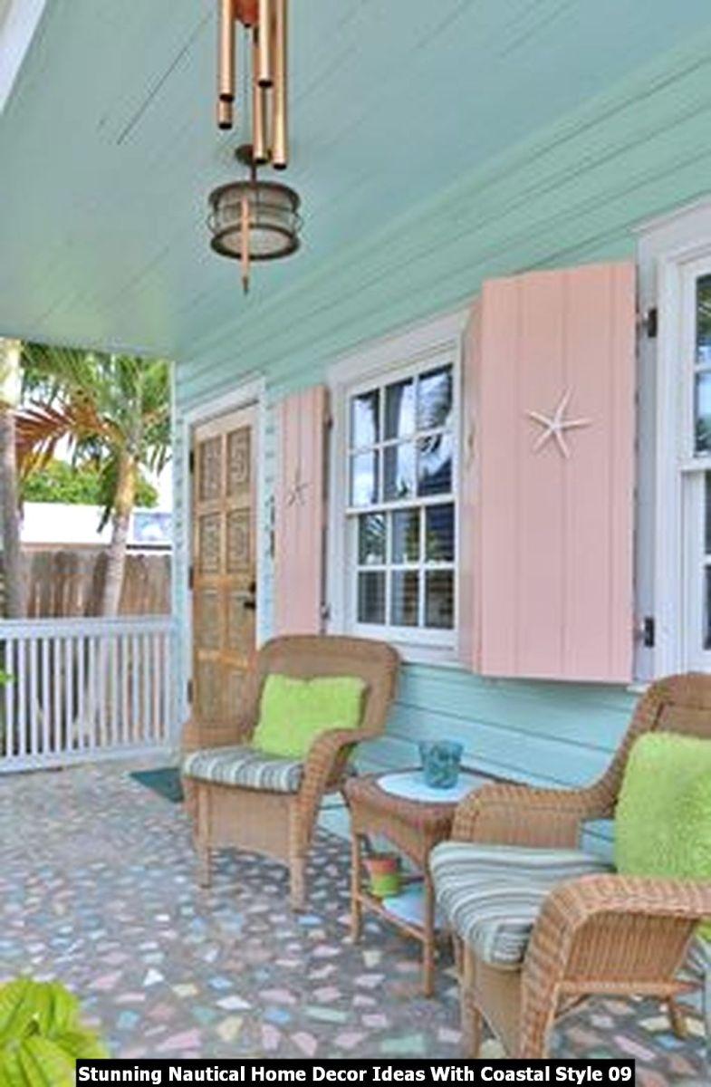 Stunning Nautical Home Decor Ideas With Coastal Style 09