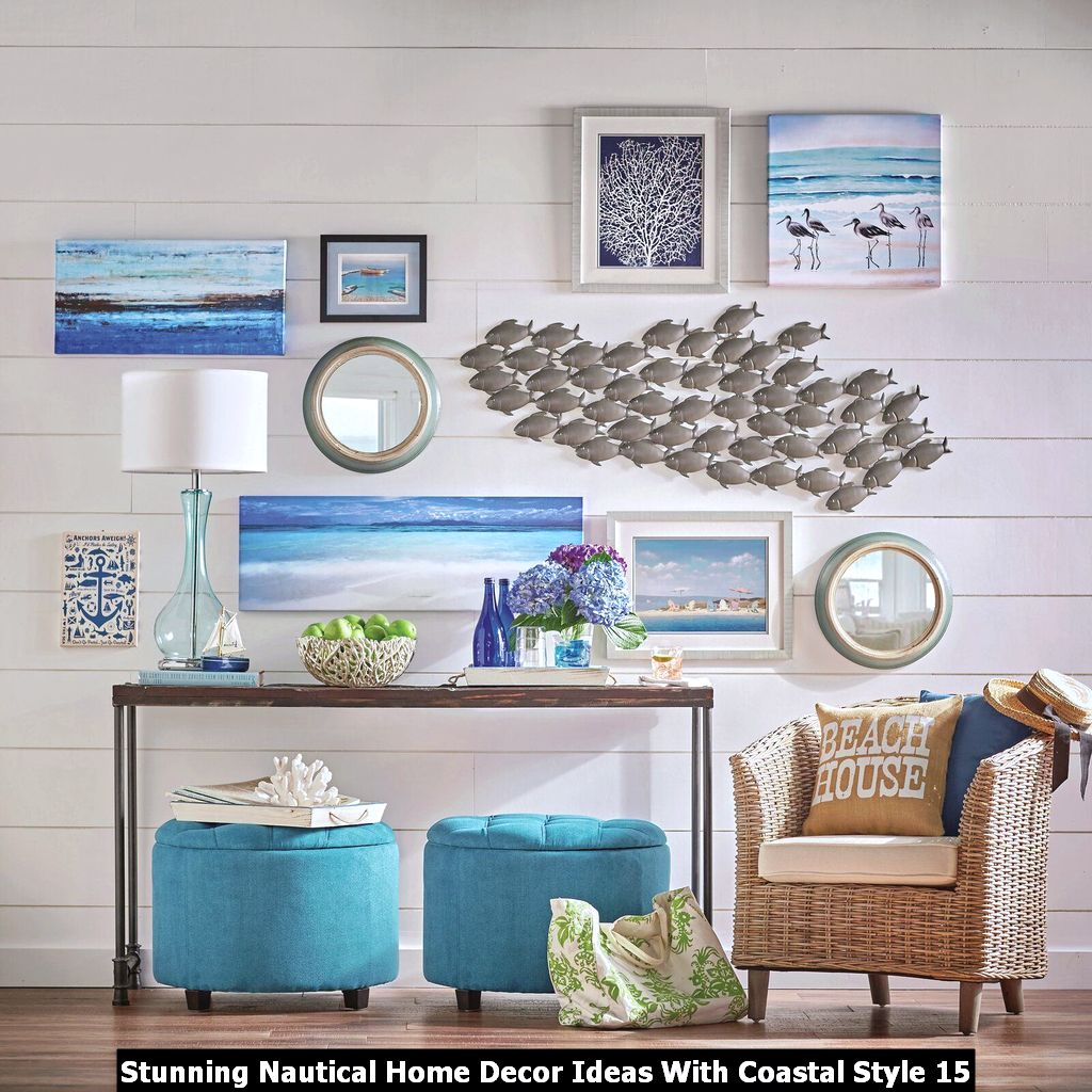 Stunning Nautical Home Decor Ideas With Coastal Style 15