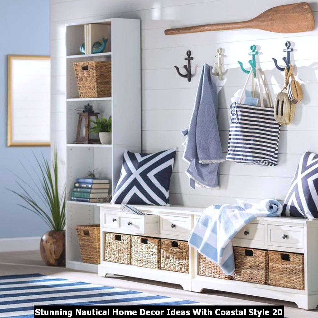 Stunning Nautical Home Decor Ideas With Coastal Style 20