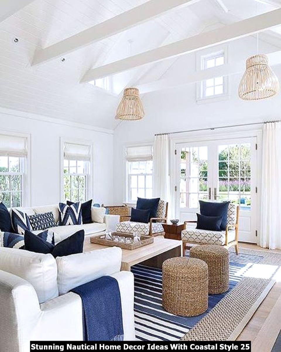Stunning Nautical Home Decor Ideas With Coastal Style 25