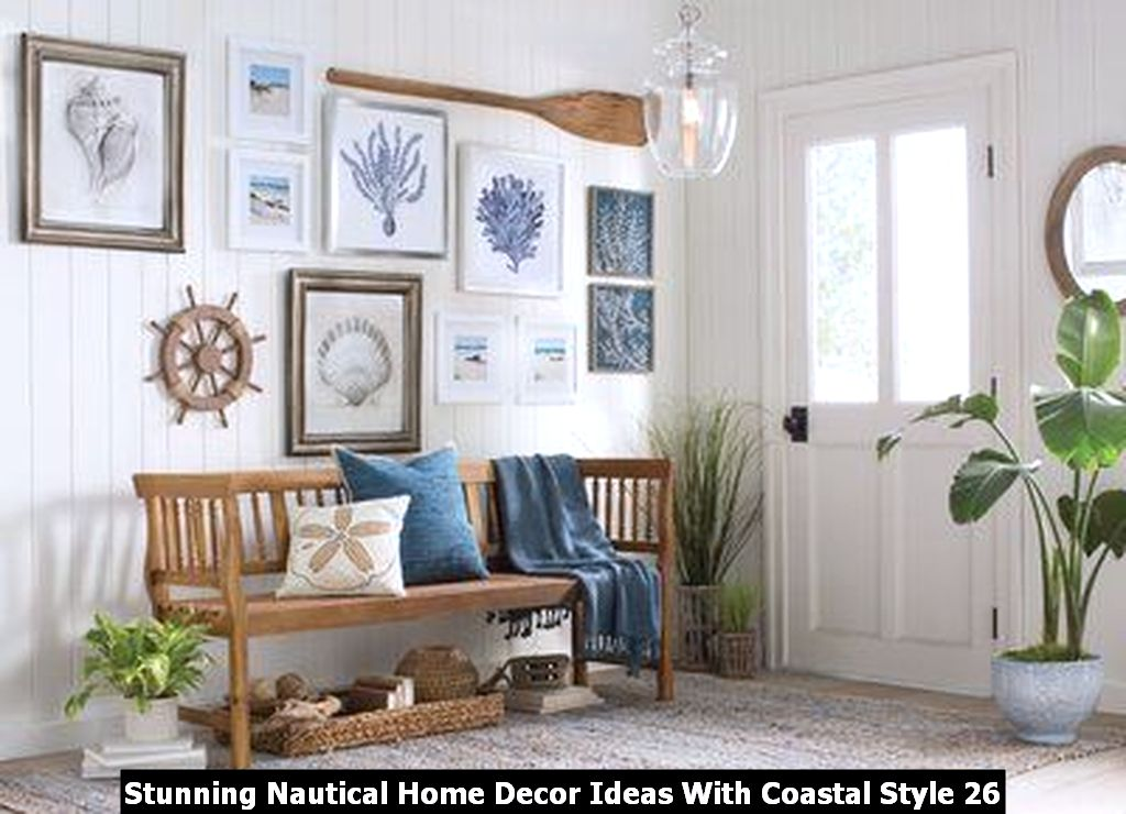 Stunning Nautical Home Decor Ideas With Coastal Style 26