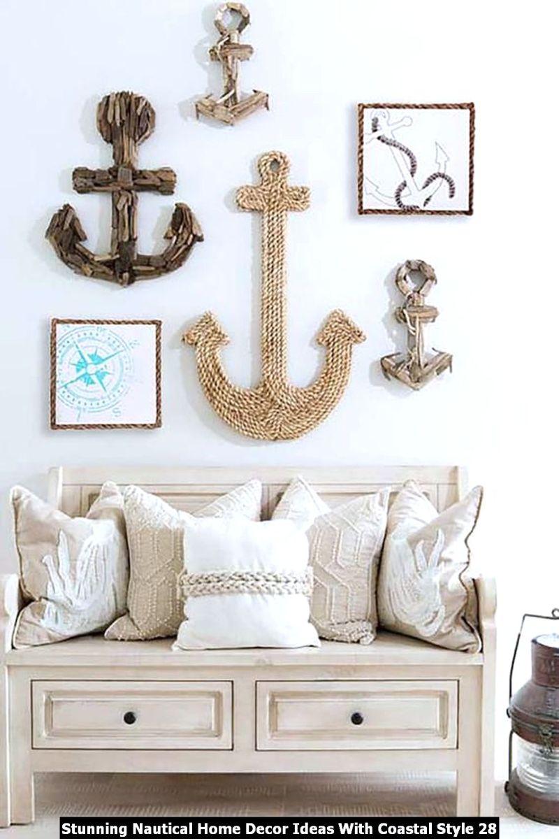 Stunning Nautical Home Decor Ideas With Coastal Style 28