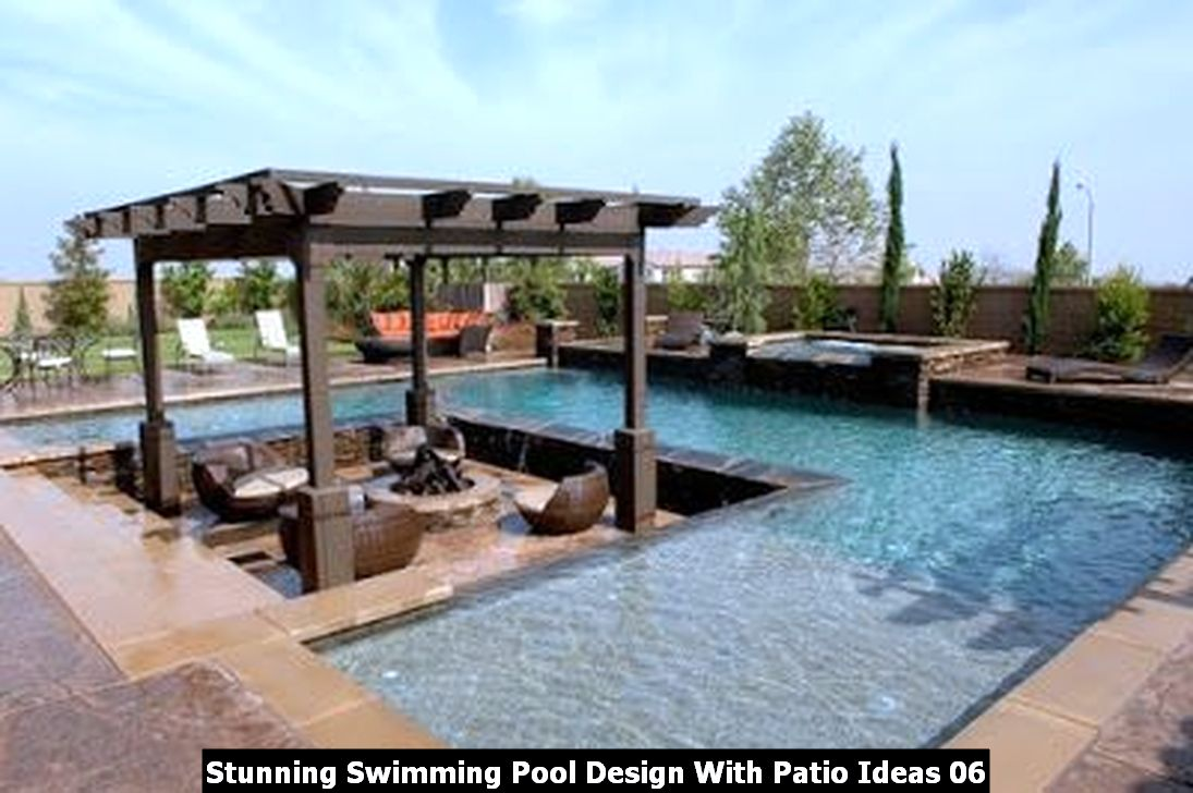 Stunning Swimming Pool Design With Patio Ideas 06