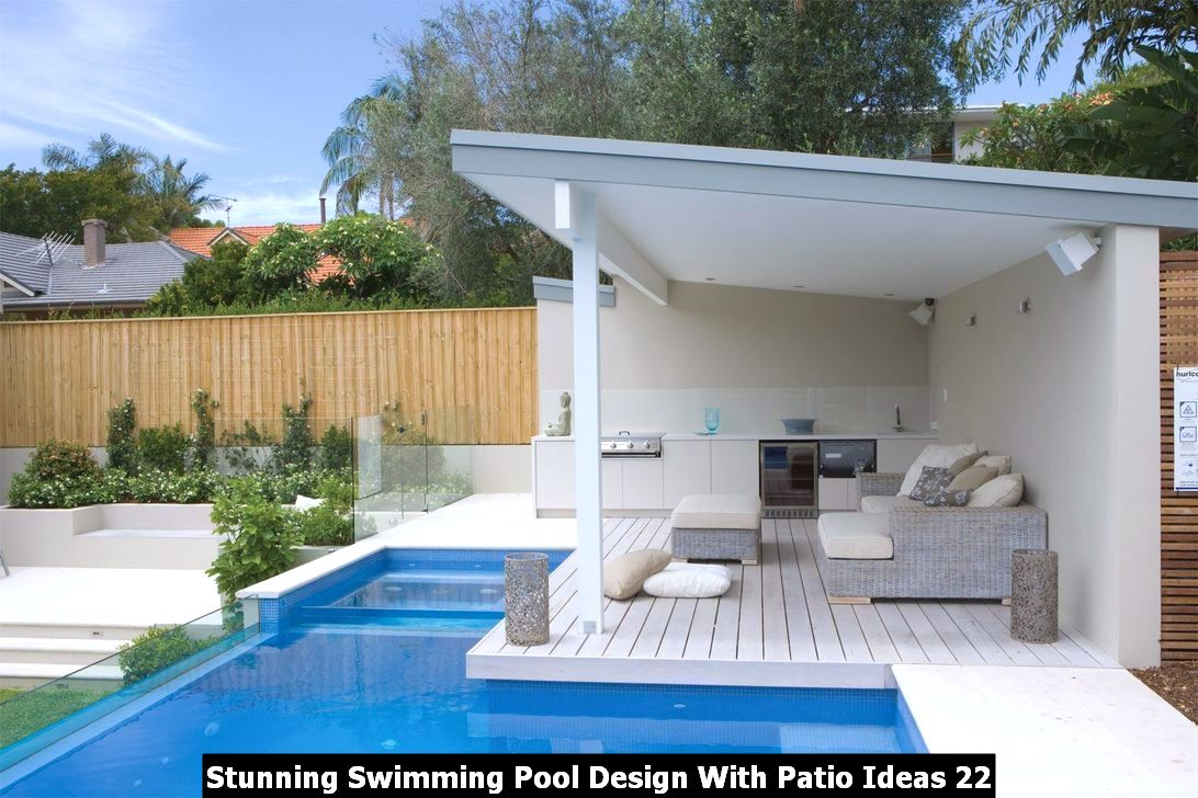 Stunning Swimming Pool Design With Patio Ideas 22
