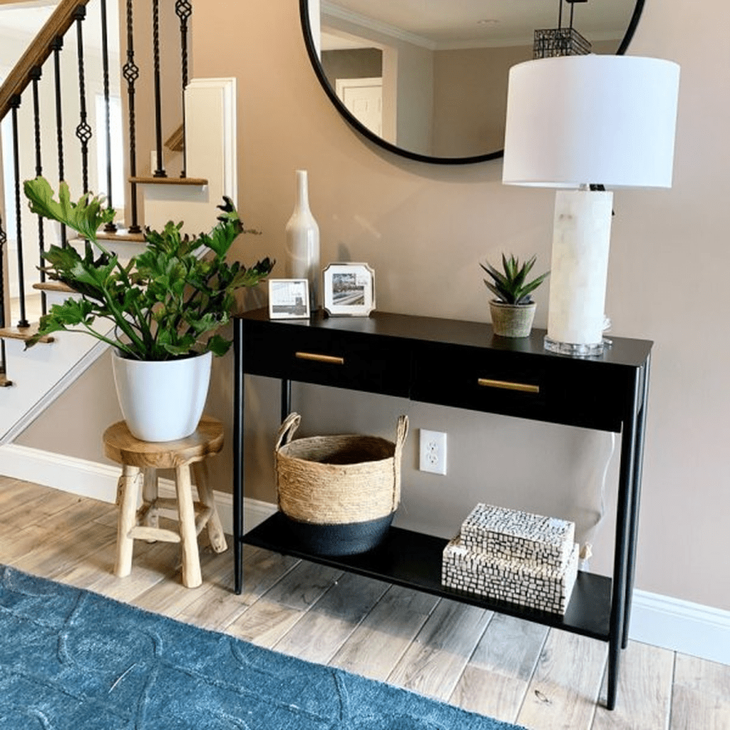 Stylish Console Table Design Ideas You Must Have 06