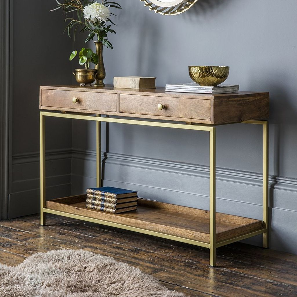 Stylish Console Table Design Ideas You Must Have 07