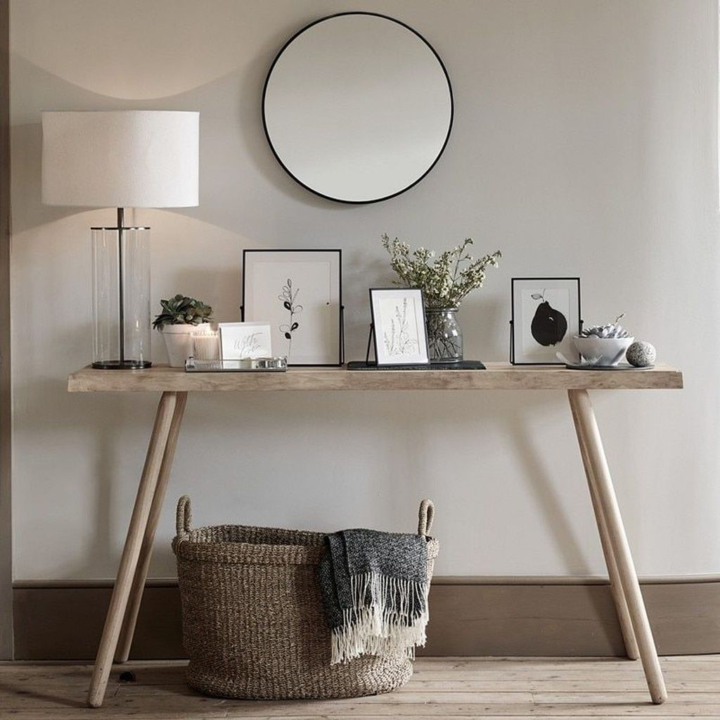 Stylish Console Table Design Ideas You Must Have 14