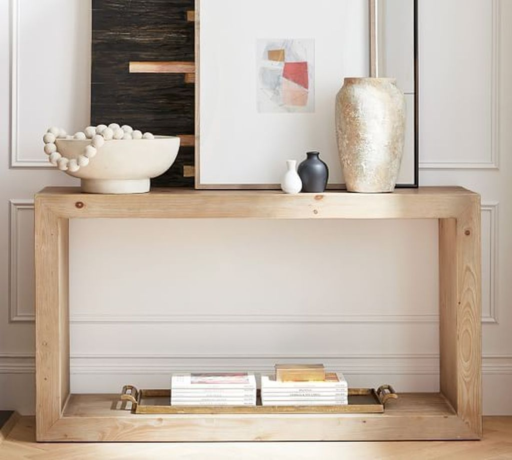 Stylish Console Table Design Ideas You Must Have 26