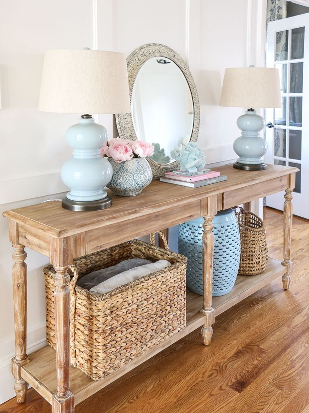 Stylish Console Table Design Ideas You Must Have 34