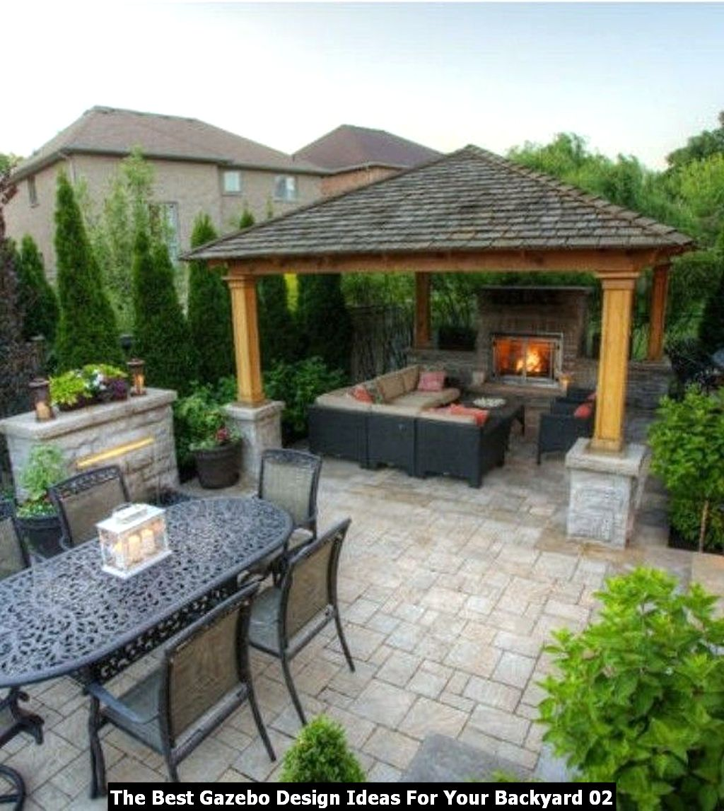 The Best Gazebo Design Ideas For Your Backyard 02