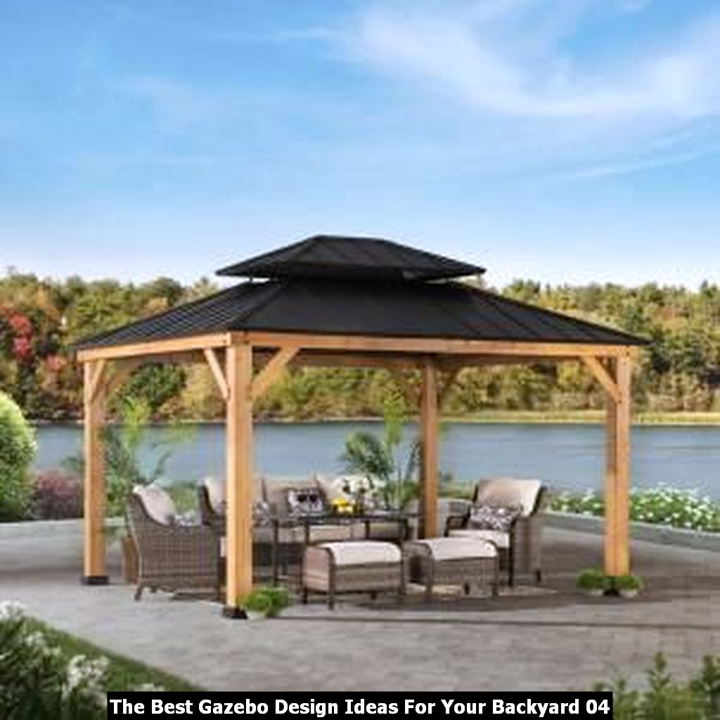 The Best Gazebo Design Ideas For Your Backyard 04
