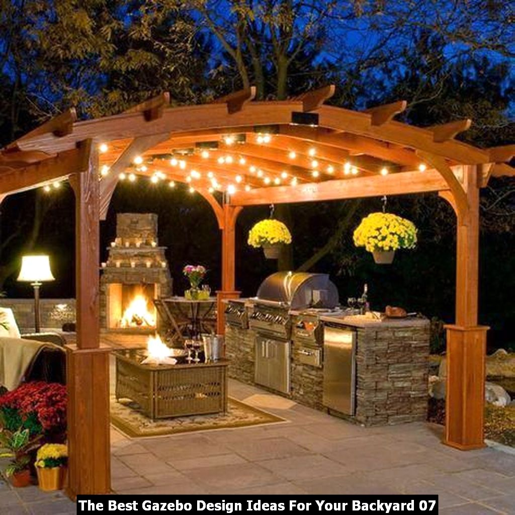 The Best Gazebo Design Ideas For Your Backyard 07