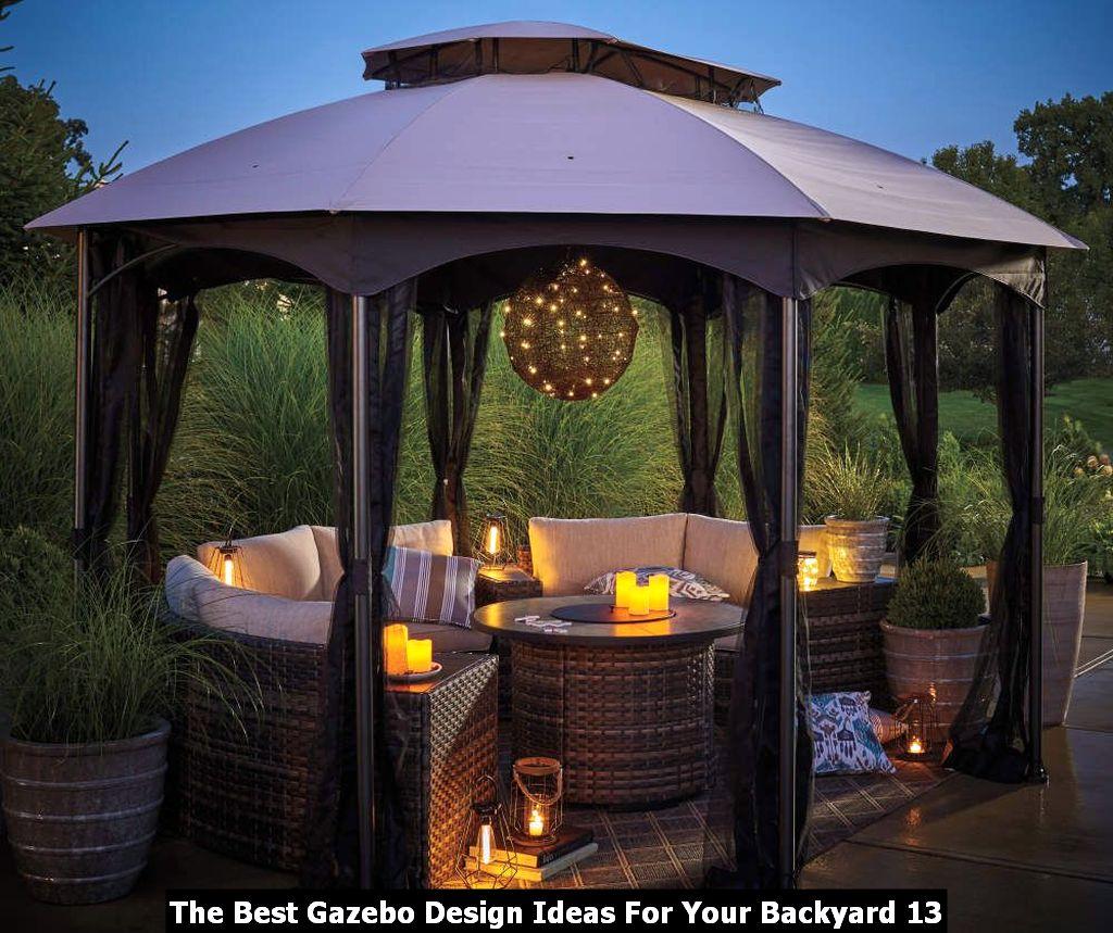 The Best Gazebo Design Ideas For Your Backyard 13