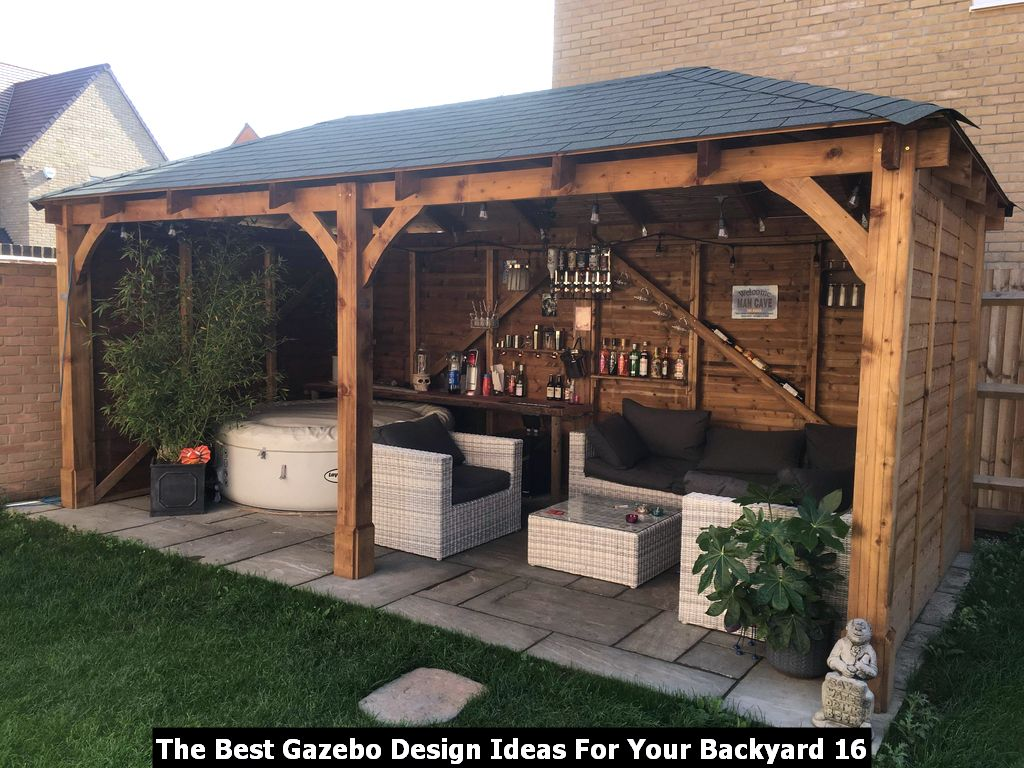 The Best Gazebo Design Ideas For Your Backyard 16